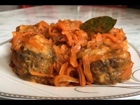 Хек Тушеный в Томате / Рыба в Томатном Соусе / Fish In Tomato Sauce / Простой Рецепт (Очень Вкусно)