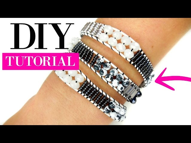 How To Make A Wrap Bracelet - DIY Tutorial