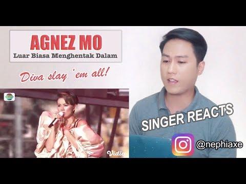 Agnez Mo Luar Biasa Menghentak Dalam Agnez Mo's Indonesian Hits   KONSER RAYA 24 THN INDOSIAR | REAC