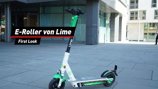 Lime: Elektrischer Leih-Scooter angetestet
