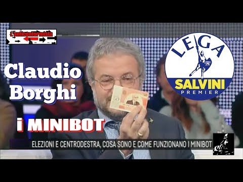 🔴 Claudio Borghi: cosa sono e come funzionano i MINIBOT - 19/02/2018