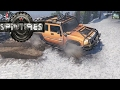 SpinTires 6x6 Hummer and Snowy Hill
