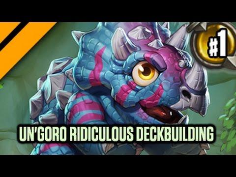 Hearthstone - Un'Goro ridiculous deckbuilding P1 - Day[9] Hits Legend