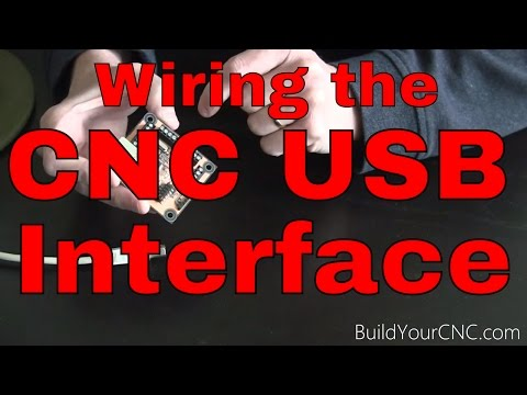 How to Wire the USB CNC Controller/Interface Part 1 - YouTube Usb Cnc Wiring Diagram on