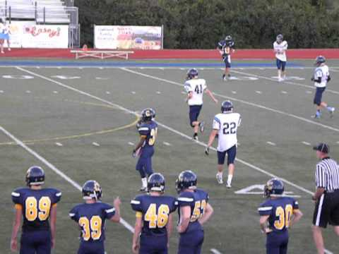 Ryan Harris was all beastmode this game~had 140 yards~ WL Central JV vs Livonia Stephen