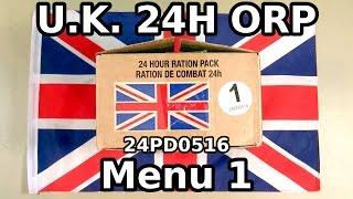 UK 24H ORP - Menu 1 (PD0516)