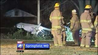 Four people survive plane crash in Springfield, Mo