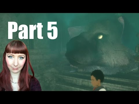 THE LAST GUARDIAN PS4 PRO Let's Play Walkthrough Gameplay Part 5 - WHAT'S THAT SMELL!? - 동영상