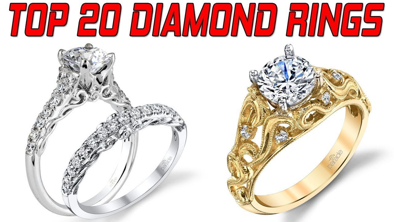 Top 20 Latest Diamond Ring Design For Female Engagement Designs Wedding Rings Women