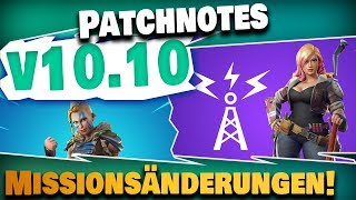 Patchnotes v10.10 - Submachine Guns, Mission Changes - Other Loot! | Fortnite Save the World