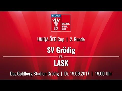 SV Grödig vs LASK (UNIQA ÖFB Cup 17/18 - Runde 2)