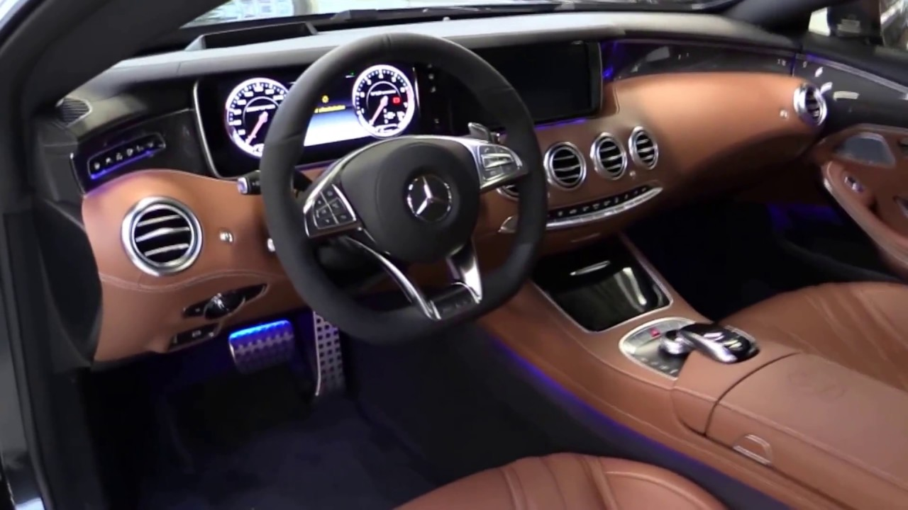 Mercedes Benz S65 Amg Coupe V12 Biturbo 2017 Start Up Exhaust And