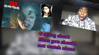 6 Scary Short Films YOU SHOULD NOT WATCH ALONE [SSS #046] reaction by @CoryxKenshin