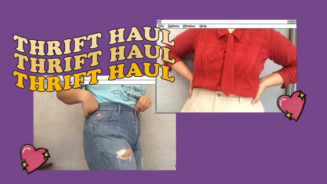 [VIDEO] - PLUS SIZE Ukay Ukay Haul from Anonas! Try On + Tips ✨(Philippines) 9