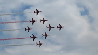 Red Arrows Cleethorpes armed forces day 2016