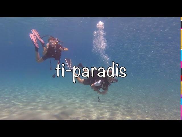 Ti-Paradis Deshaies test vidéo aquarium