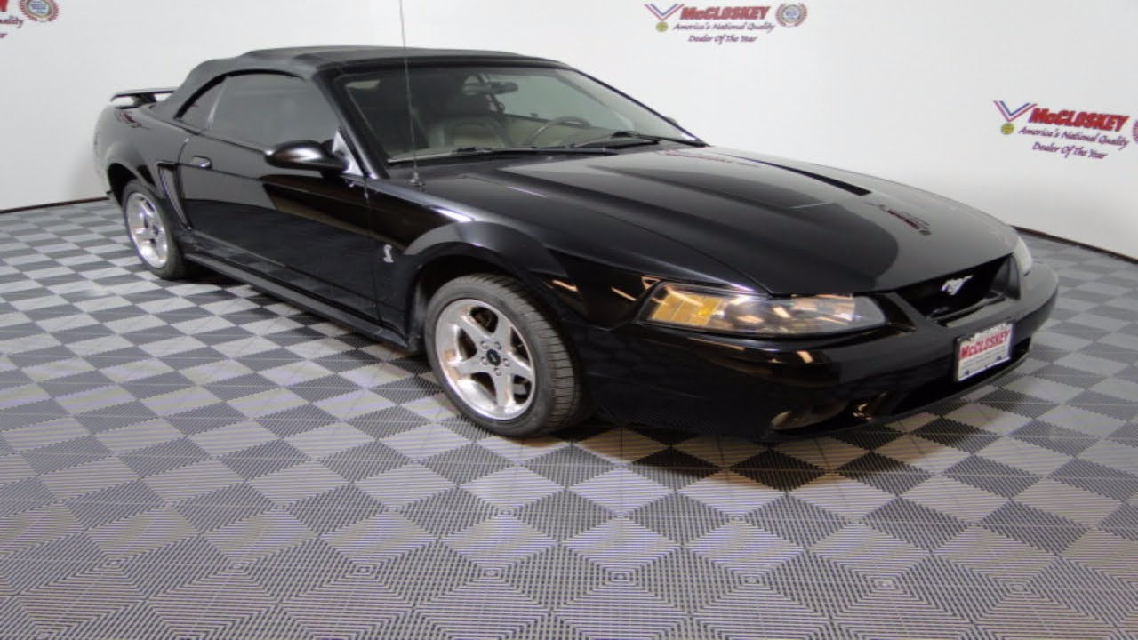 Mccloskey motors 2001 ford mustang svt cobra 4 6l v8