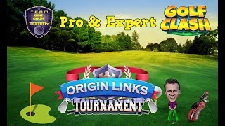 Golf Clash tips, Playthrough Hole 1-9 - Pro & Expert Division! Origin Links Tournament!