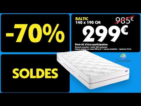 le roi du matelas soldes janvier 2016 france youtube. Black Bedroom Furniture Sets. Home Design Ideas