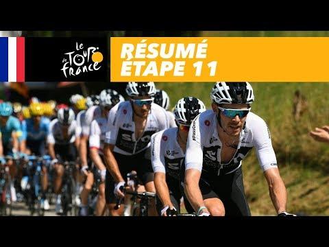 Résumé - Étape 11 - Tour de France 2018