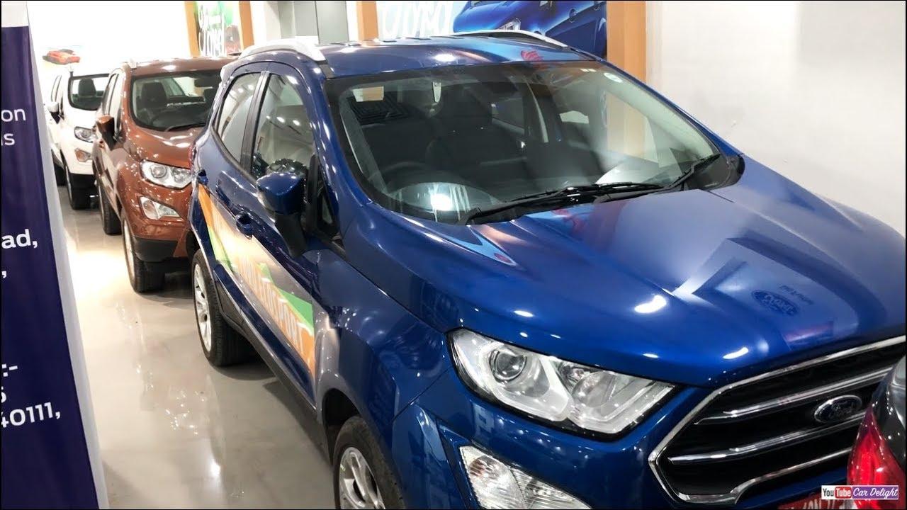 Ford Ecosport Facelift  All Colours Interiorexterior Blueredblackwhitesilvergreyridge