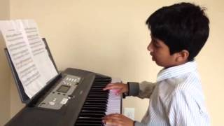 Raheel, Amar Shonar Bangla in piano