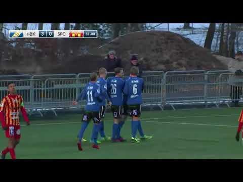 Svenska Cupen omgång 2: HBK-Syrianska 5-0 2018