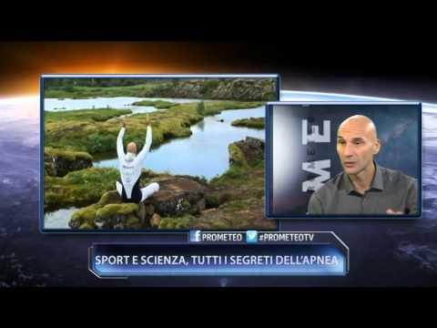 Prometeo tv | Sport e scienza, tutti i segreti dell'apnea (28-10-2014)