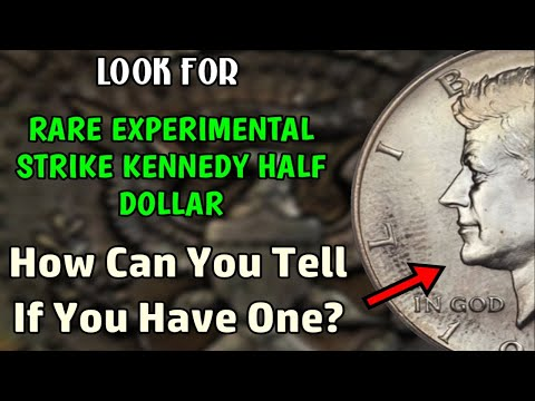 Rare Experimental Kennedy Half Dollar You Should Look For - Worth $25,000++