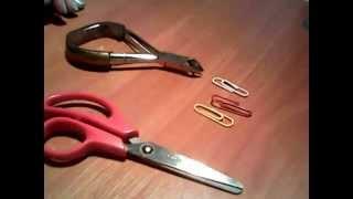 как сделать кафф своими руками/DIY easy ear cuff