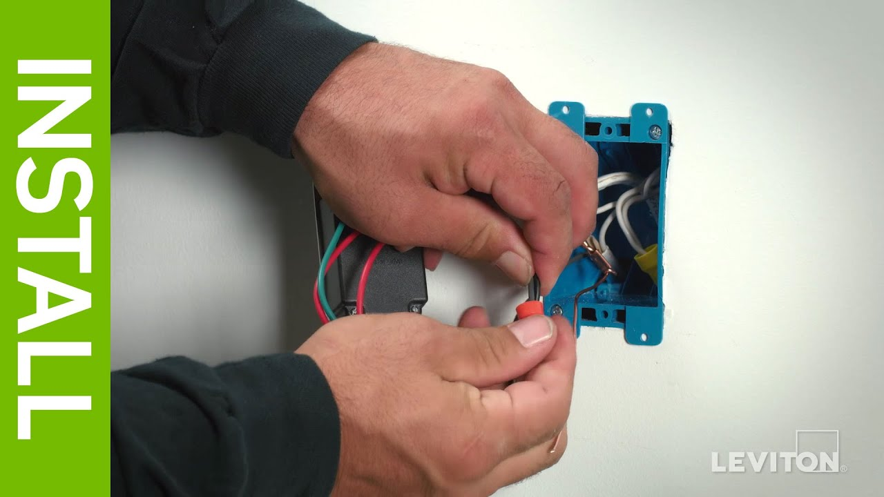 leviton presents how to wire a device using the pigtail wiring rh youtube com wiring pigtail connectors wiring pigtail diagram