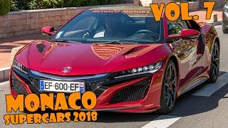 SUPERCARS IN MONACO 2017 - VOL. 7 (LaFerrari, 918 Spyder, F40, Carrera GT, etc ... ) [2018 HQ]