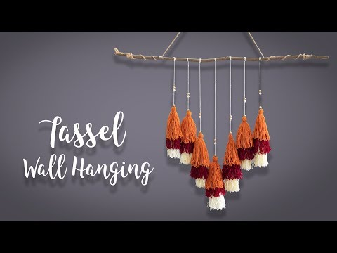 Tassel Wall hanging |  Home Decor |  Wall Art