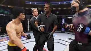 Bruce Lee vs. Shredder (EA sports UFC 2)