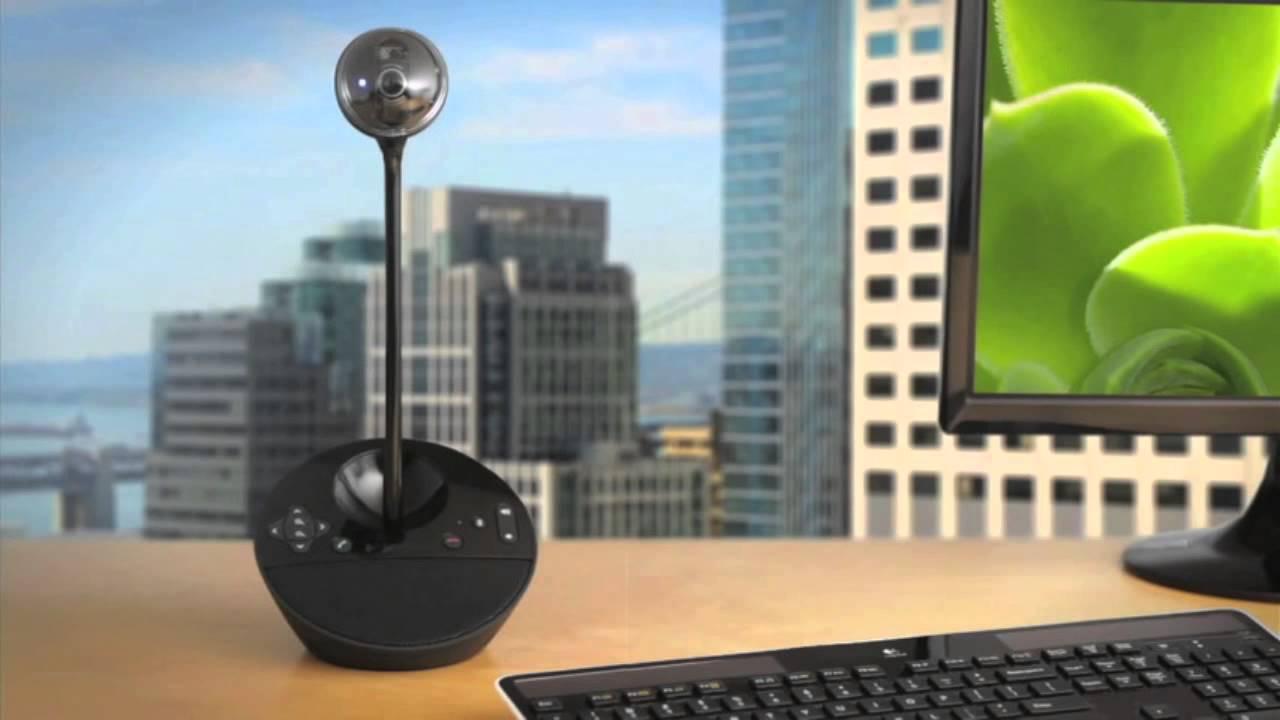 Logitech Bcc950 Camera Speaker Mic Youtube
