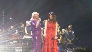 Laura Pausini ft Yuri - Maldita primavera & Amores extraños - Arena Ciudad de México - 28 nov 2014