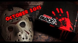 Horror Block October 2015 Unboxing [Theme] Child