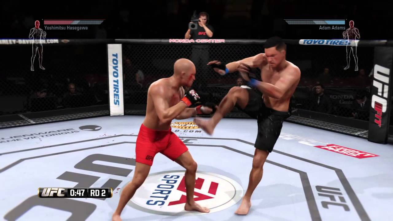 UFC most bloodiest brutal fight/knockout - YouTube