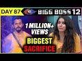 Surbhi Rana BIGGEST SACRIFICE For Sreesanth   Bigg Boss 12 Full Episode Update