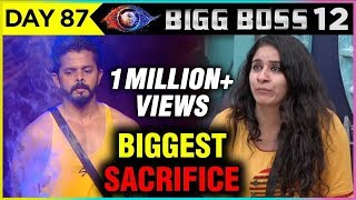 Surbhi Rana BIGGEST SACRIFICE For Sreesanth | Bigg Boss 12 Full Episode Update