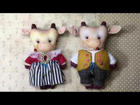 Текстильные игрушки своими руками мастер класс