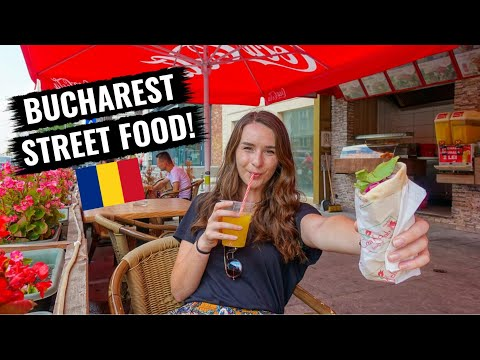 The Best Street Food in Bucharest, Romania