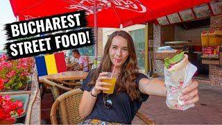 The Best Street Food in Bucharest, Romania