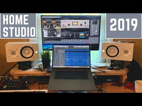 Home Studio Update! Apollo Twin Quad MacBook Pro (2019)