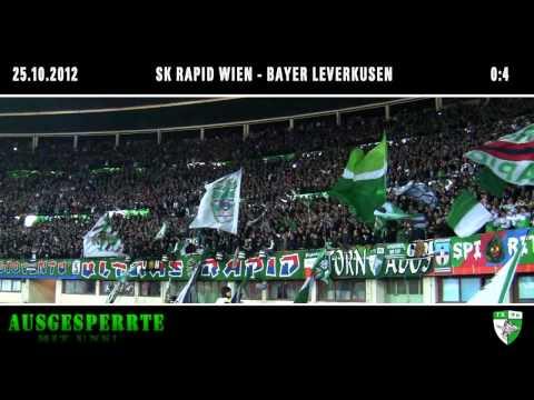 SK Rapid Wien - Bayer Leverkusen, 25.10.2012