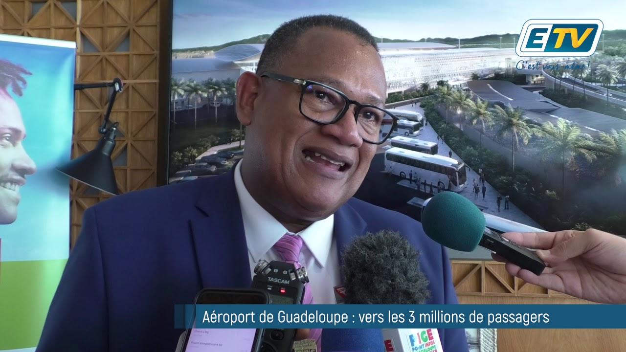 Aéroport de Guadeloupe : vers les 3 millions de passagers