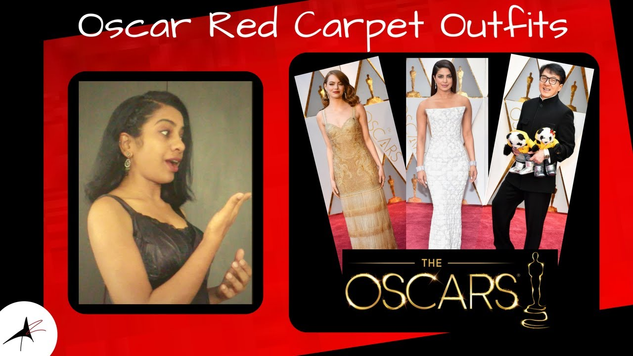 Oscar Red Carpet Outfits 2017, Priyanka Chopra   Arpitharai