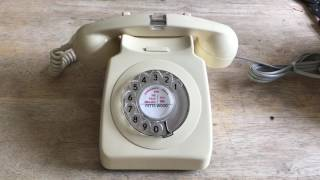 Rare GPO 746 with a flashing handset. Antique Telephones