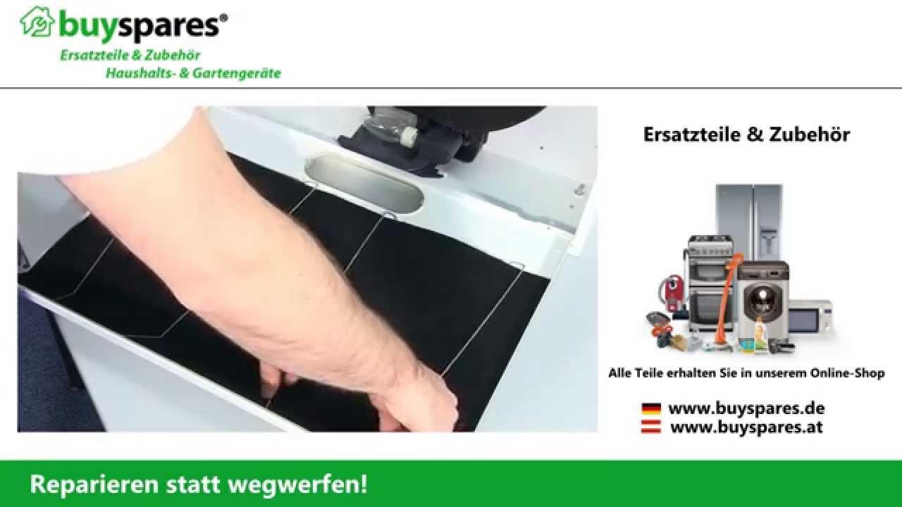 Kohlefilter reinigen gebrauchsanweisung montageanleitung pdf