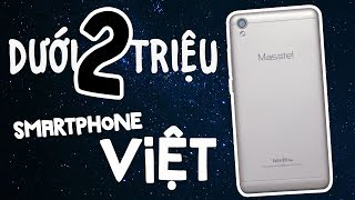 Smartphone dưới 2 triệu hàng Việt Masstel Juno Q5 Plus